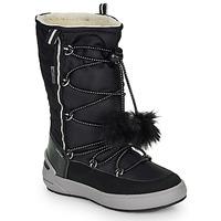 Schuhe Mädchen Klassische Stiefel Geox J SLEIGH GIRL B ABX Schwarz