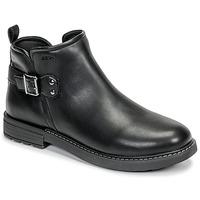 Schuhe Mädchen Boots Geox J ECLAIR GIRL Schwarz
