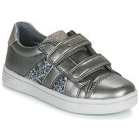 Schuhe Mädchen Sneaker Low Geox J DJROCK GIRL Grau