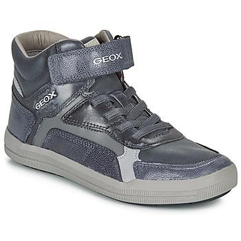 Schuhe Jungen Sneaker High Geox J ARZACH BOY Blau / Grau
