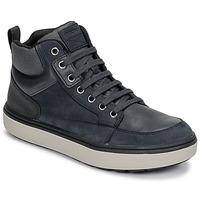 Schuhe Jungen Sneaker High Geox J MATTIAS B BOY ABX Blau / Schwarz