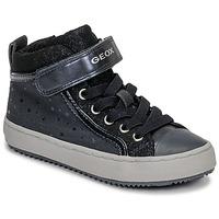 Schuhe Mädchen Sneaker High Geox J KALISPERA GIRL Blau