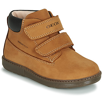 Schuhe Jungen Sneaker High Geox B HYNDE BOY WPF Braun