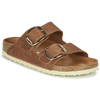 Schuhe Damen Pantoffel Birkenstock ARIZONA BIG BUCKLE Braun