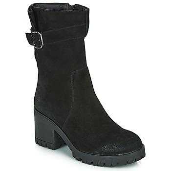 Schuhe Damen Klassische Stiefel Les Petites Bombes BOUM Schwarz