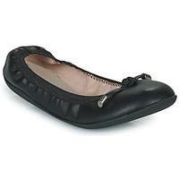 Schuhe Damen Ballerinas LPB Shoes AVA Schwarz