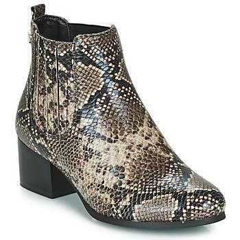 Schuhe Damen Low Boots Les Petites Bombes CHIRAZ Braun