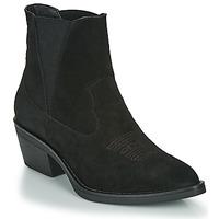 Schuhe Damen Low Boots Les Petites Bombes IRINA Schwarz