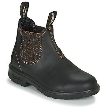 Schuhe Mädchen Boots Blundstone KIDS-BLUNNIES-1992 Schwarz / Glitterfarbe