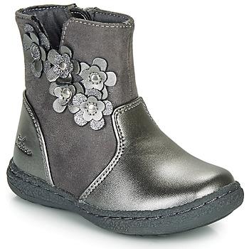 Schuhe Mädchen Klassische Stiefel Chicco CINEY Grau