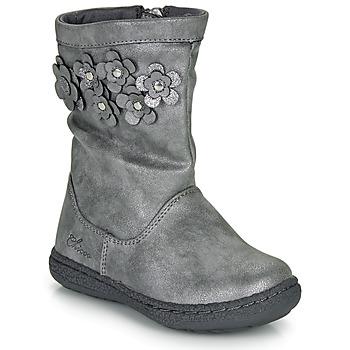 Schuhe Mädchen Klassische Stiefel Chicco CLEDIA Grau