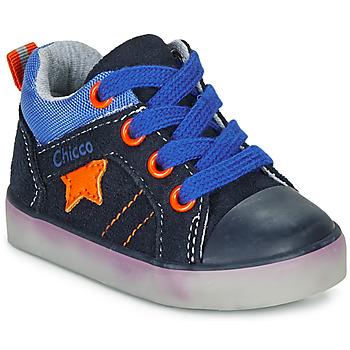 Schuhe Jungen Sneaker High Chicco GRADO Blau