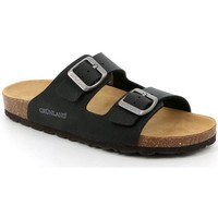 Schuhe Damen Pantoffel Grunland DSG-CB1557 NERO