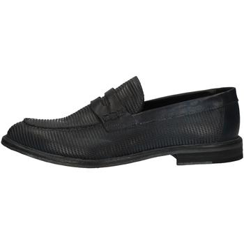 Schuhe Herren Slipper Pawelk's 19036 Blau