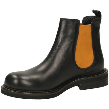 Schuhe Damen Boots Mat:20 VITELLO nero-nero