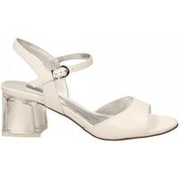 Schuhe Damen Sandalen / Sandaletten Luciano Barachini NAPPA bianco