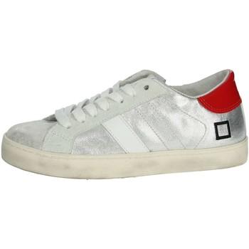 Schuhe Kinder Sneaker Low Date HILL LOW  JR Silber