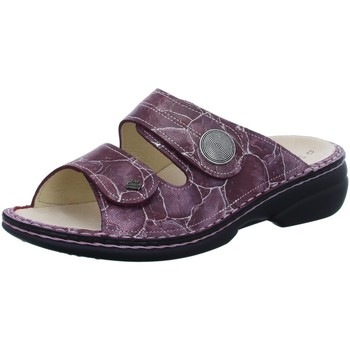 Schuhe Damen Pantoffel Finn Comfort Pantoletten Sansibar 02550-637358 rot