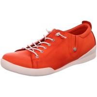 Schuhe Damen Sneaker Low Andrea Conti Schnuerschuhe Sneaker 0345724-021 rot
