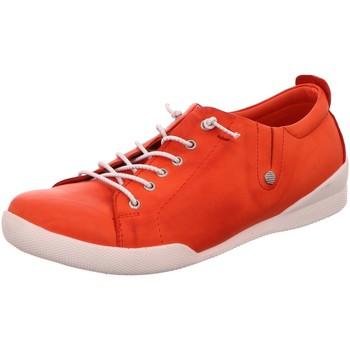 Schuhe Damen Sneaker Low Andrea Conti Schnuerschuhe 0345724-021 rot