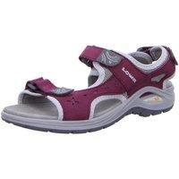 Schuhe Damen Sportliche Sandalen Lowa Sandaletten Urbano Ws 420371 3123 pink