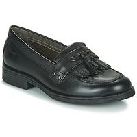 Schuhe Mädchen Derby-Schuhe Geox JR AGATA A Schwarz