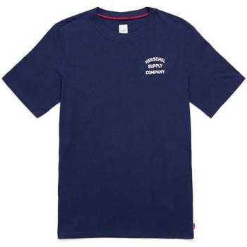 Kleidung Herren T-Shirts Herschel Herschel Stack Logo T-Shirt 19
