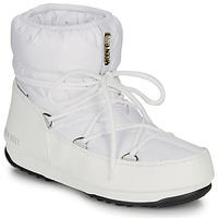 Schuhe Damen Schneestiefel Moon Boot MOON BOOT LOW NYLON WP 2 Weiss