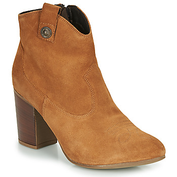 Schuhe Damen Low Boots Elue par nous FLYING Camel
