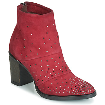 Schuhe Damen Low Boots Metamorf'Ose FALCAO Rot