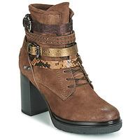 Schuhe Damen Low Boots Metamorf'Ose FALENCIA Camel