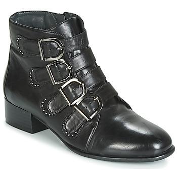Schuhe Damen Boots Metamorf'Ose FAMO Schwarz