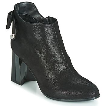 Schuhe Damen Low Boots Metamorf'Ose FANCHON Schwarz
