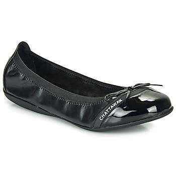 Schuhe Damen Ballerinas Chattawak CAPRICE Schwarz