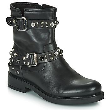 Schuhe Damen Boots Café Noir CHARLIE Schwarz