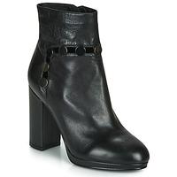 Schuhe Damen Low Boots Café Noir GLORIA Schwarz