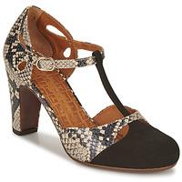 Schuhe Damen Pumps Chie Mihara KUNA Schwarz / Beige