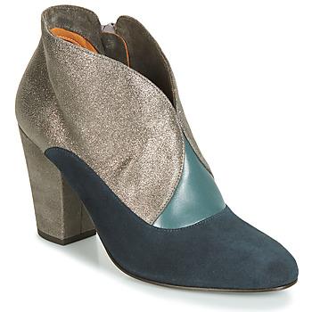Schuhe Damen Low Boots Chie Mihara ELGI Silbern / Marine