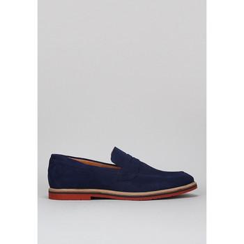 Schuhe Herren Slip on Krack 1240021 Blau