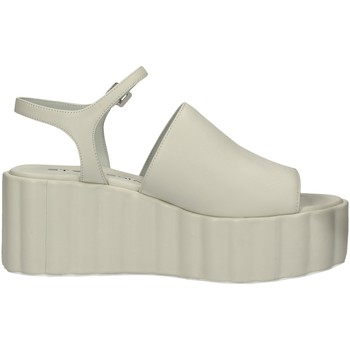 Schuhe Damen Sandalen / Sandaletten Strategia W19 WEISS