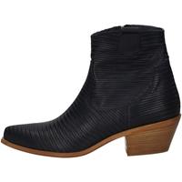 Schuhe Damen Ankle Boots Cube 200V BLUE