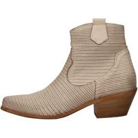 Schuhe Damen Ankle Boots Cube 200V BEIGE