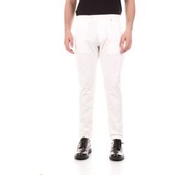 Kleidung Herren 5-Pocket-Hosen Bicolore F2576-ZINCO weiß