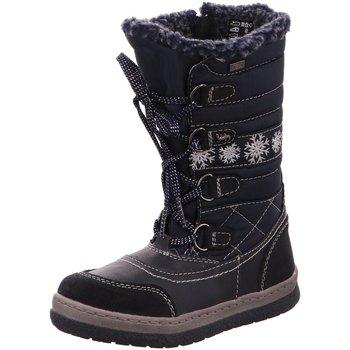 Schuhe Mädchen Stiefel Lurchi By Salamander Winterstiefel Alpy Tex Winterboot 33-20715-22 blau