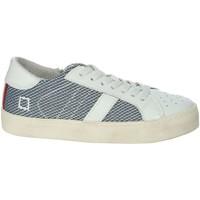 Schuhe Jungen Sneaker Low Date HILL LOW-O Weiss/Blau