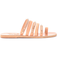Schuhe Damen Sandalen / Sandaletten Ancient Greek Sandals Sandalen Modell Niki Diamonds in Leder Nude