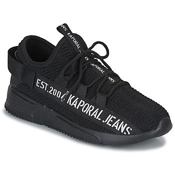 Schuhe Herren Sneaker Low Kaporal DOFINO Schwarz