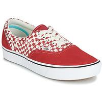 Schuhe Sneaker Low Vans COMFYCUSH ERA Rot / Weiss