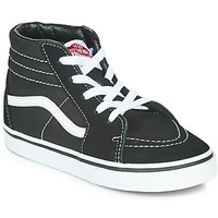 Schuhe Kinder Sneaker High Vans TD SK8-HI Schwarz / Weiss