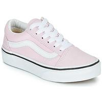 Schuhe Mädchen Sneaker Low Vans UY OLD SKOOL Rose